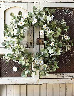 Spring Song Floral 22 inch Wreath