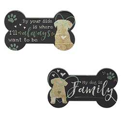 Dog Bone Magnets (Set of 2)