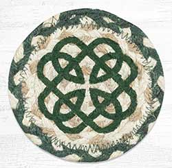 Irish Knot 2 Braided Coaster