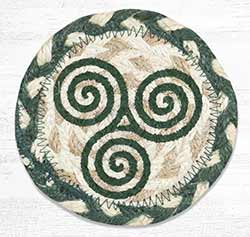 Irish Knot 3 Braided Coaster