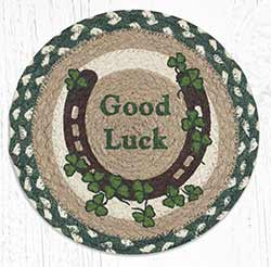 Celtic Luck Braided Tablemat - Round (10 inch)