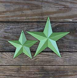 Granny Smith Apple Green Barn Star (Multiple Size Options)