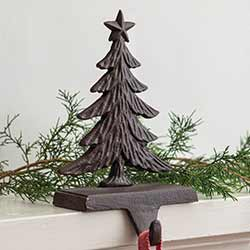 Cast Iron Tree Stocking Holder