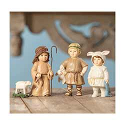 Shepherds and Lost Sheep (Set of 3)