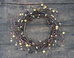 Primitive Berry Candle Ring