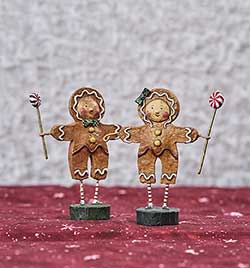 Gingerbread Boy and Girl (Set of 2)