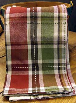 Heritage Plaid Dishtowel