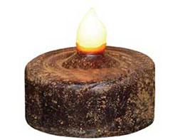 Beeswax Dipped Battery Tealight Candle