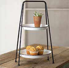 Tiered Trays & Countertop Racks