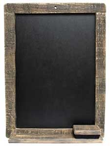 Hanging Chalkboards