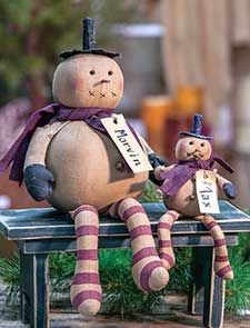 Christmas Primitive Dolls & Plush