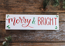 christmas wooden signs the weed patch - Christmas Wooden Signs