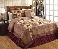 Colonial Star Burgundy Collection