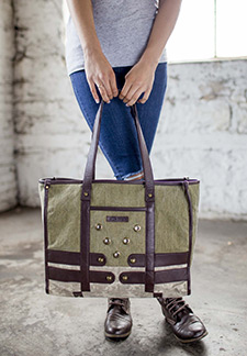 Delta Canvas Handbags