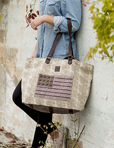 Ellis Canvas Handbags