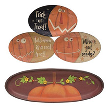 Fall & Halloween Plates