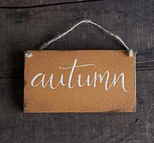 Fall & Halloween Wooden Signs