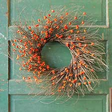 Fall Wreaths & Candle Rings