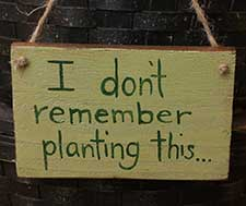 Garden Signs & Wall Decor