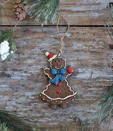 Gingerbread & Candy Ornaments