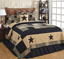 Jamestown Black Quilt