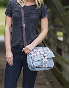 Kendall Canvas Handbags