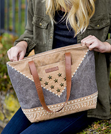 Lea Canvas Handbags