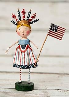 Patriotic Lori Mitchell