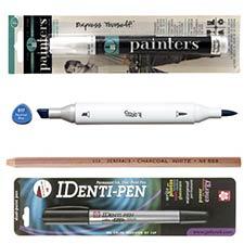 Pens, Pencils, & Markers