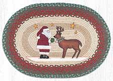 Primitive Christmas Rugs & Doormats