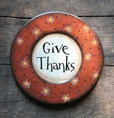Fall Decorative Plates & Trays