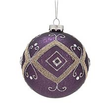 Purple & Pink Ornaments