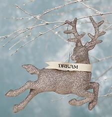 Silver & White Ornaments