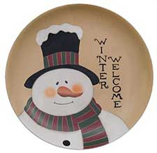 Snowmen & Snowflake Decorations