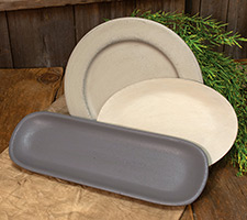 Solid Color Plates & Trays