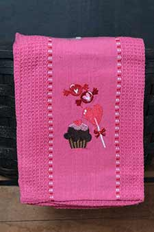 Valentine's Day Dishtowels & Table Linens