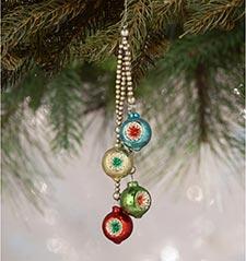 Vintage Retro Style Ornaments