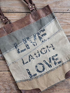 Vintage Style Canvas Bags