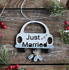 Wedding, Engagement, First Christmas Ornaments