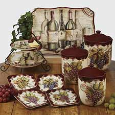 Wine & Grape Dinnerware