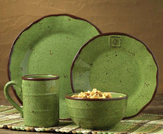 Herb Garden Dinnerware, by Park Designs