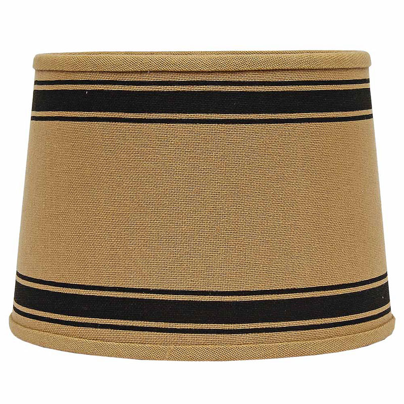 10 inch bella trace black stripe lamp shade by raghu. Black Bedroom Furniture Sets. Home Design Ideas