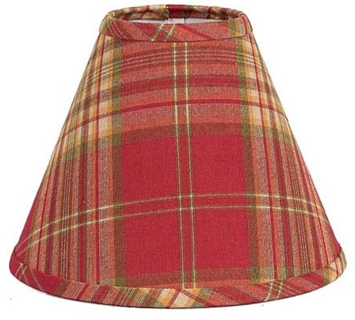 Cedar Park Plaid Lampshade, by Raghu