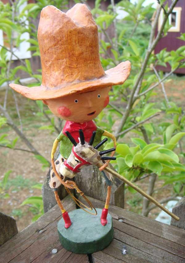 Getty Up Lil Cowboy, by Lori Mitchell