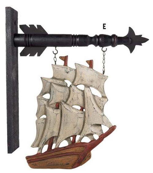 Pirate Arrow Replacement, by K & K Interiors
