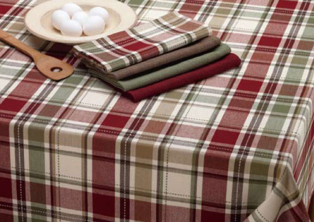 Heritage Plaid Napkin, by Design India Imports