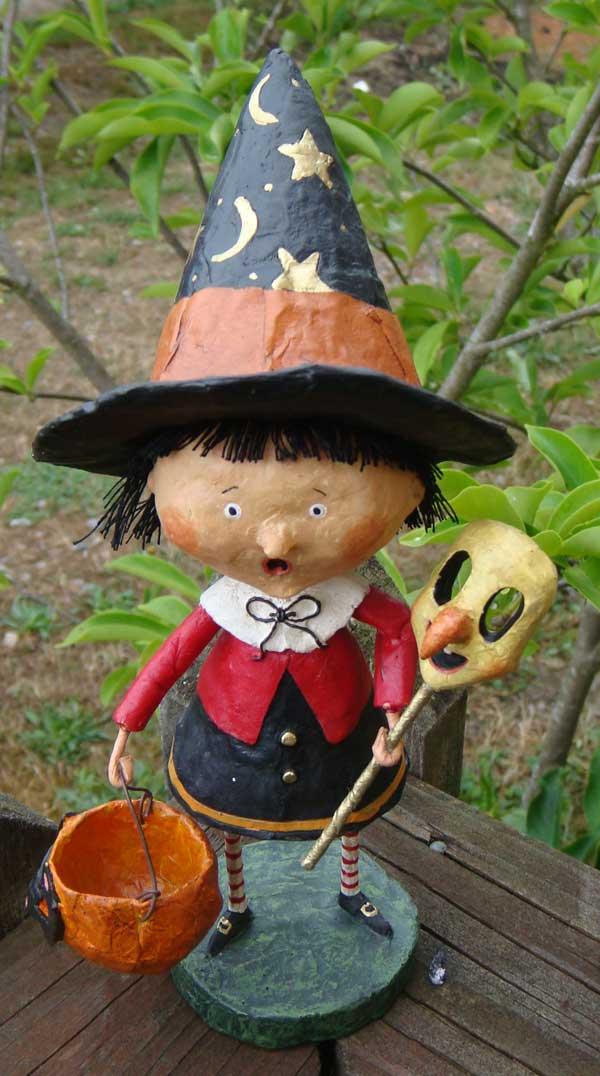 Trixie Witch, by Lori Mitchell