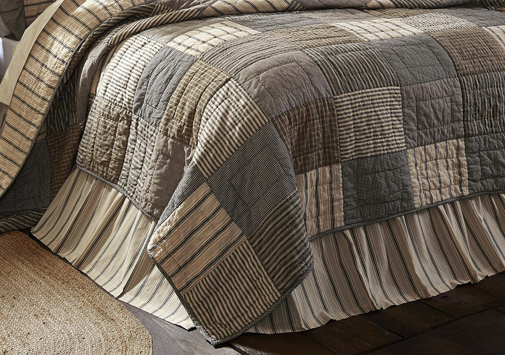 Sawyer Mill Bed Skirt, by VHC Brands.