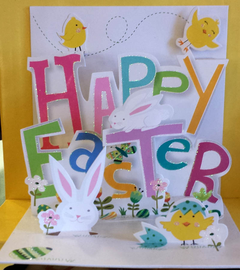 Happy Easter Popup Card by Up With Paper The Weed Patch – Easter Pop Up Cards