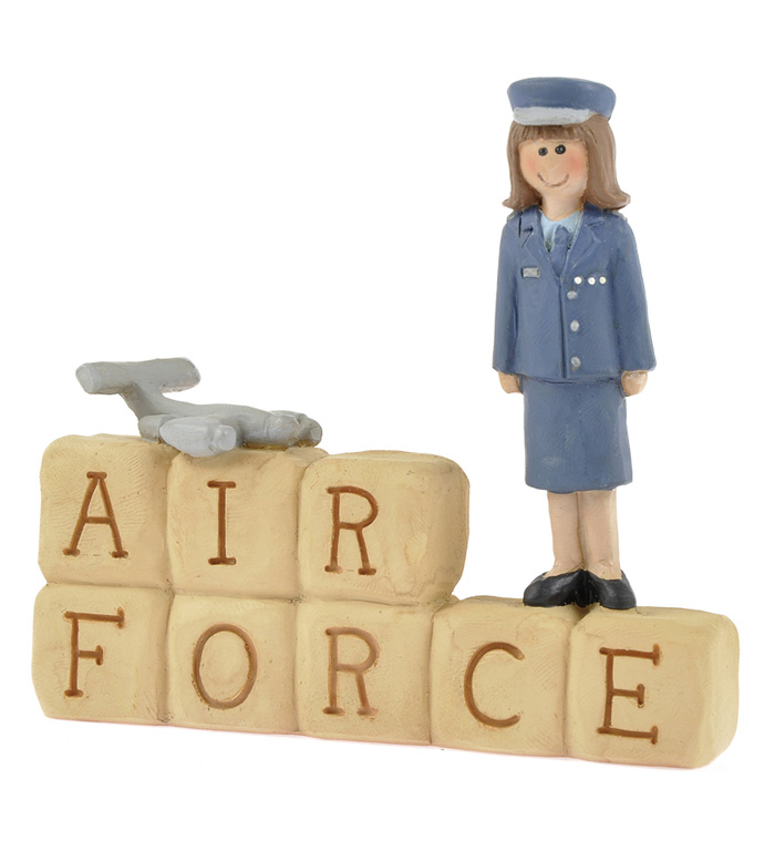 Air Force Block with Girl